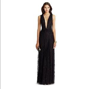 Diane von furstenberg infanta lace gown